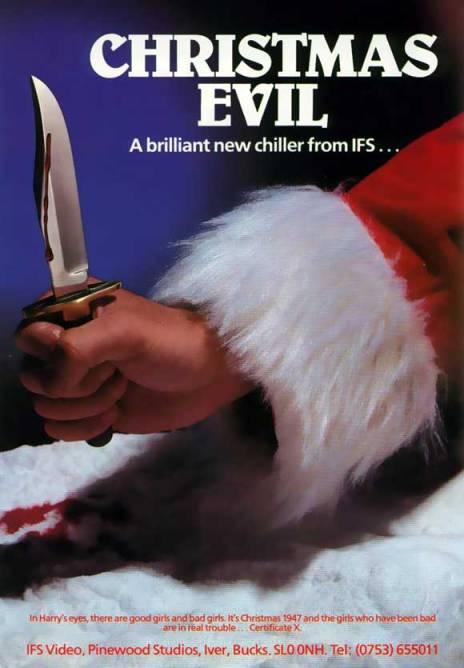 """Christmas Evil"" poster"